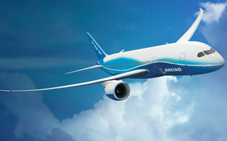 The Boeing Company uses Aurora to prioritize production of the Boeing 787 Dreamliner™.